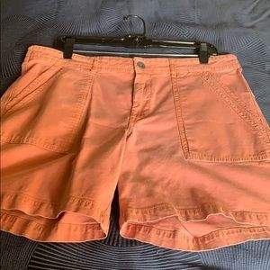 Anthropologie cargo shorts